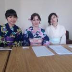 Yukata para animar a festa da Associação Mie